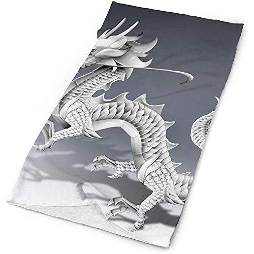 KDU Fashion Magic hoofdband, Chinese drache-schets-magische hoofdband-sjaal, luxe hoofdsieraden kunt- en wijze-kop-sjaal-Bandana-masker-hals-gamasche