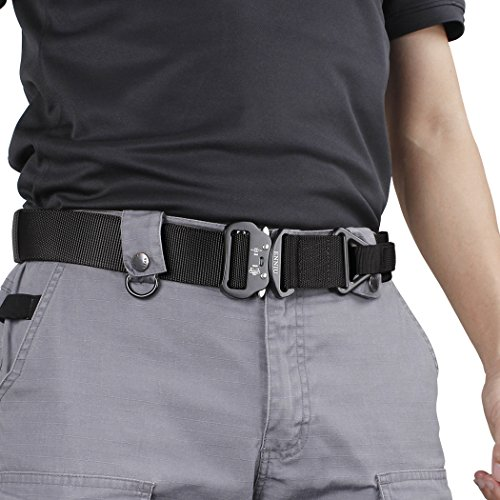 Strong Quick Release Heavy Duty Tactical Belt for Men Mens Adjustable Tactical Belt