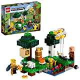 LEGO 21165 Minecraft La Granja de Abejas, Set de Construcción con Figuras de Apicultora y Oveja, Juguete para niños y niñas +8 años