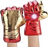 YOMI Bambini Hulk Hands Hulk Smash Fists Hulk Peluche Guanti (Iron Man)
