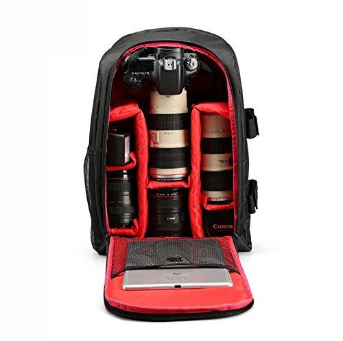 "LUVODI Camera Backpack for SLR/DSLR Cameras w/ 16"" Laptop Compartment..."