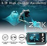 Zoom IMG-2 fotocamera impermeabile 2 7k hd
