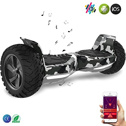 Double Hunter hoverboard tout terrain 8,5""