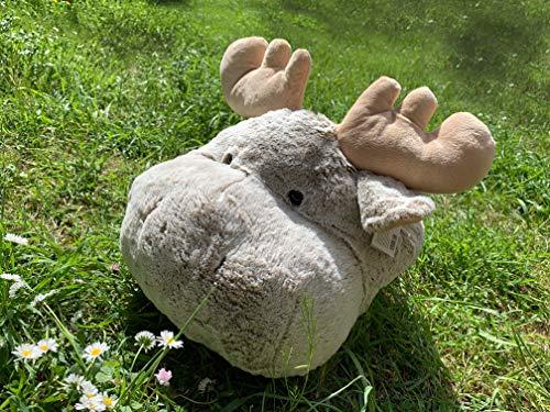 Inwolino 6795 - Fußwärmer Elch, beige/meliert