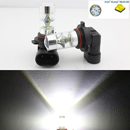 2 x 45 W 9006/HB4 Blanc Lumineux LED Cree LED avant ampoule de brouillard haute puissance