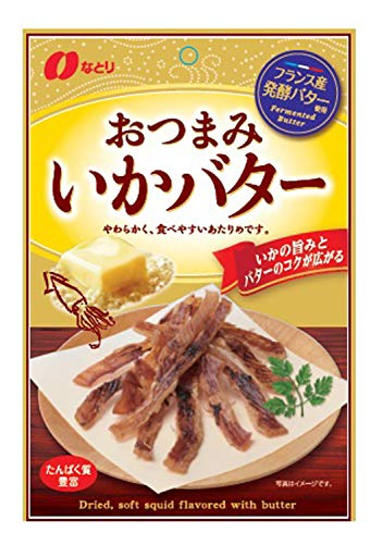 なとり おつまみいかバター 30g ×5袋