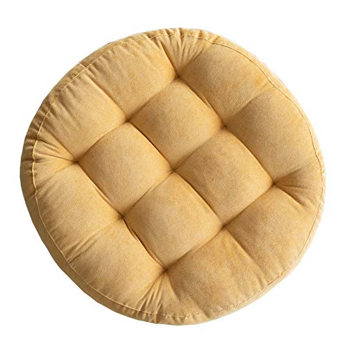 Miwaimao Cotton hemp chair cushion ground cushion tatami thickened round cushion chair cushion household student Futon bottom cushion