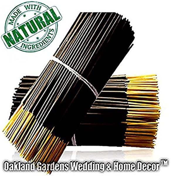 B BLACK TIE Incense Leather Peppercorn Blended With Musk And Patchouli With Slight Hints Of Citrus By Oakland Gardens Black Tie 100 Sticks