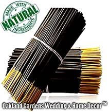 (N) NAKED IN THE WOODS Incense - Italian Bergamot, White Tea Leaves, figs with Jasmine, Heliotrope and Sandalwood - Natural Premium Incense By Oakland Gardens (Naked in the Woods (100 Sticks))