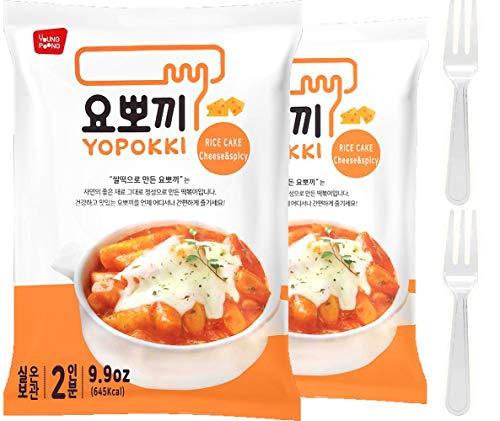 Cheese Tteokbokki Korean Rice Cake Instant (Pack...