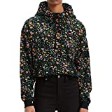 Levi's unbasic' Hoodie Capucha, Multicolour (Dunsmuir Floral Meteorite 0036), Small para Mujer