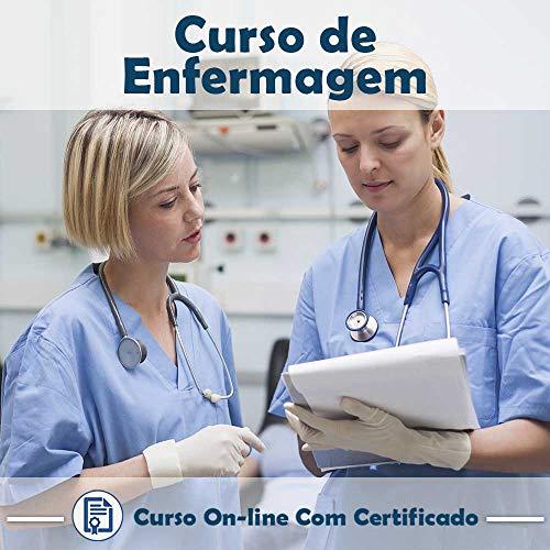 Curso online em videoaula de Enfermagem com Certificado + 2 brindes