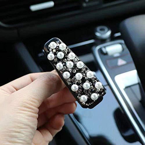 Roman Auto bril clip multifunctionele zonnebril vizier kaarthouder beugel auto brillenkoker auto zon (Color : B)