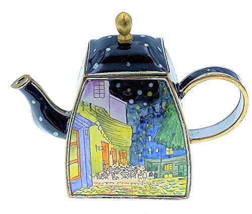 Kelvin Chen esmaltado miniatura tetera–Noche Cafe