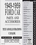 1949-1959 Ford Car Parts and Accessory Catalog (English Edition)