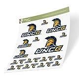 University of North Carolina Greensboro UNCG Spartans Sticker Vinyl Decal Laptop Water Bottle Car Scrapbook (Sheet Type 3) -  Desert Cactus