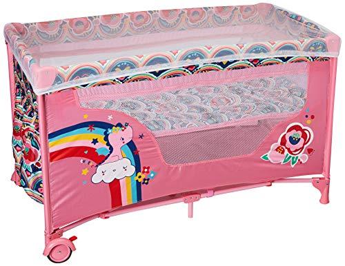 Tuc Tuc Enjoy & Dream - Cuna de viaje, niñas, color rosa