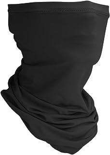 UV Neck Gaiter Face Mask Seamless Bandanas for Men Women with Ice Silk
