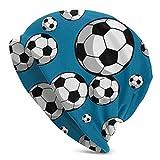 Lsjuee Fútbol Fútbol Beanie Hat Gorro de punto de invierno Regalos para mujeres Mamá Sus hombres Adolescentes