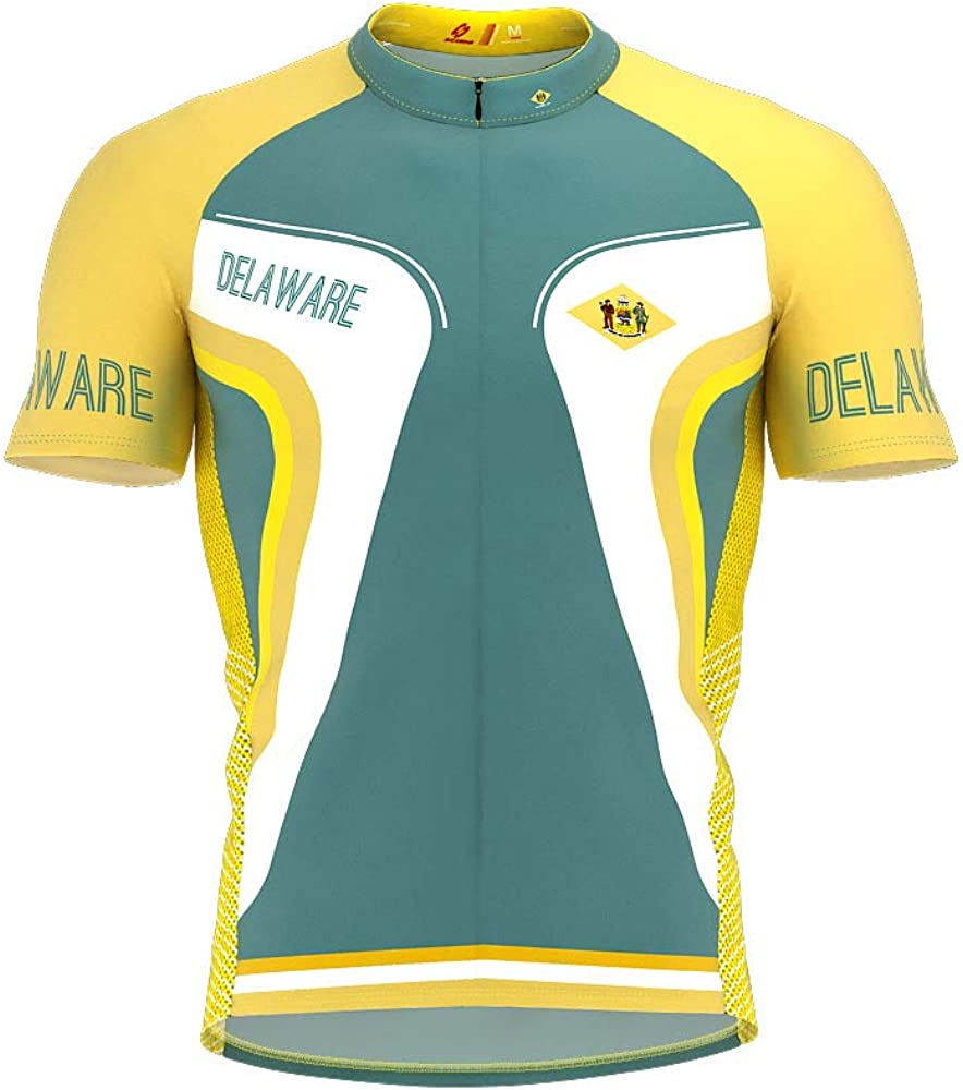 ScudoPro Delaware Bike Short Beauty products OFFicial store Sleeve Jersey for Men Cycling