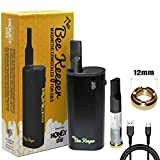 Honeystick Beekeeper Vape <span class='highlight'>Pen</span> Battery Starter Kit MOD Rechargeable for 510 Thread Cartridges for CBD and Thick Oil Includes Empty Cartridge Premium Quality <span class='highlight'>Electronic</span> Vaporizer No Nicotine (Black)