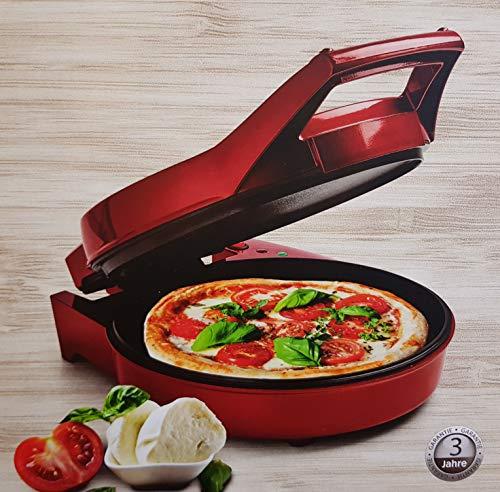 MEDION Pizzamaker & Tischgrill 2in1 MD 18219, 1800 Watt für Pizzen bis zu 28 cm Ø, antihaftbeschichtete Backplatten