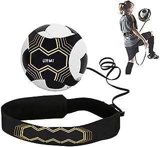 Yibak URMI Fotboll kick Trainer, fotboll träning hjälp fotboll färdigheter förbättring övning för barn vuxna händer gratis...