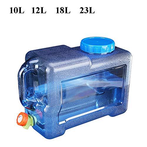 Guoda Wasserkanister  PC-Material In Lebensmittelqualität   Kann Mit Kochendem Wasser Gefüllt Werden   Tragbar   Mehrzweck   Kaliber 10 cm   Blau (Size : 8L)