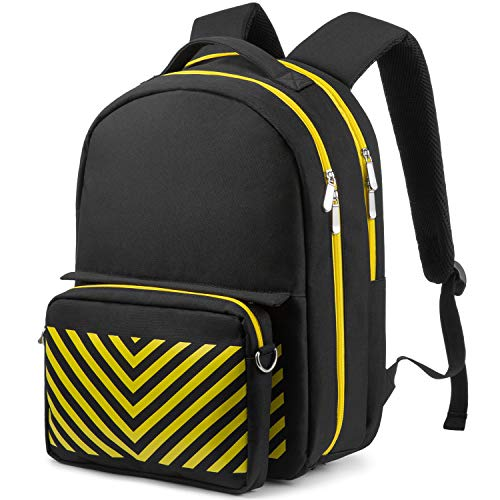 Laptop Backpack Unisex Fashion Travel Backpack with Detachable Crossbody Bag, Fit 14 Inch Laptop