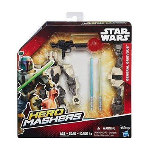 Hasbro B3666EU4 - Star Wars Hero Mashers Deluxe Figuren, sortiert