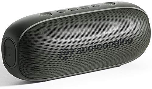 Audioengine 512 Portable Bluetooth Speaker   Outdoor Music System   Wireless Speakers Bluetooth, 20W Powered Portable Speaker, 100 Ft Wireless Range, 12 Hour Battery Life (Forest Green)