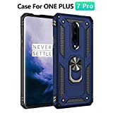 Megade for OnePlus 7 Pro Case with Ring Kickstand,Full-Body