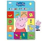 Peppa Pig Libro di dizionario (formato extra large) + 1 personaggio Peppa Pig