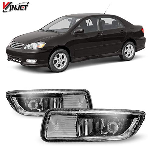 Winjet Compatible with [2003-2004 Toyota Corolla] Driving Fog Lights