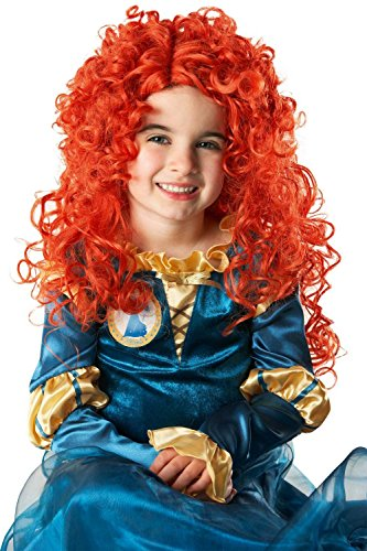 Rubie's 352602 - Merida Wig Child, STD, oranje