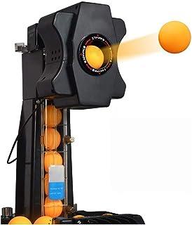 ZZZR Bordtennisrobotmaskin med nätnät, bordtennisrobotar med automatiska återvinningssystem, med fjärrstyrt nätskydd för t...