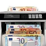 Safescan 2465-S - Banknotenzähler für gemischte Geldscheine, mit 7-facher Falschgeldprüfung - 4