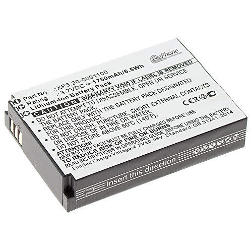 cellePhone Akku Li-Ion kompatibel mit Sonim XP1300 / XP3300 / XP3340 / XP3400 / XP5300 (Ersatz für BAT-01750-01 S)