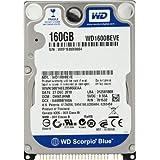 WesternDigital WD1600BEVE/160 ScorpioBlue 2.5inch 5400rpm 160GB 8MB PATA