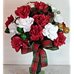 Silk-Florals-Frills-Christmas-Cemetery-Arrangement-with-Ornaments-Cemetery-Arrangement-with-Red-and-White-Roses-Cemetery-Vase