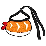 cuffslee Babero para Mascotas Lindo para Mascotas Saliva Toalla Ropa Ajustable Grasa Decorativa Gato Babero Collar De Bufanda De Perro para Café Perro Shiba Inu Corgi