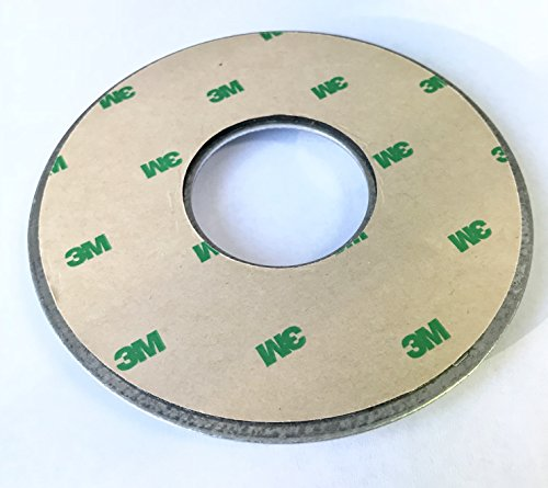 ENS Metal Base Blue Pad Round 4.25 inch Diameter - for ENS Credit Card Payment Terminal Stands