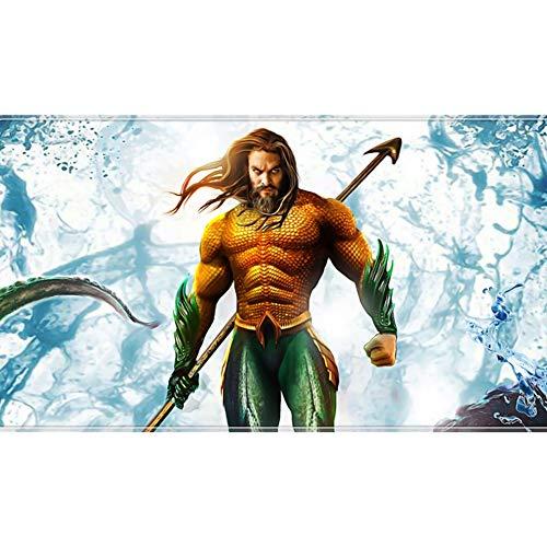 QFW Justice League Aquaman Puzzles 300/500/1000/1500 Pieces for Adults Kids Wooden DC Comics Arthur Curry Jigsaw Puzzles, 4 Styles R/72 (Color : D, Size : 500 Pieces)