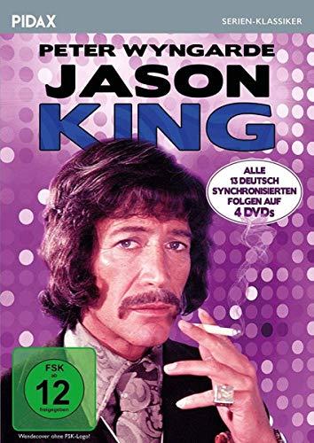 Jason King / Alle 13 deutsch synchronisierten Folgen der Kultserie mit Peter Wyngarde (Pidax Serien-Klassiker) [4 DVDs]