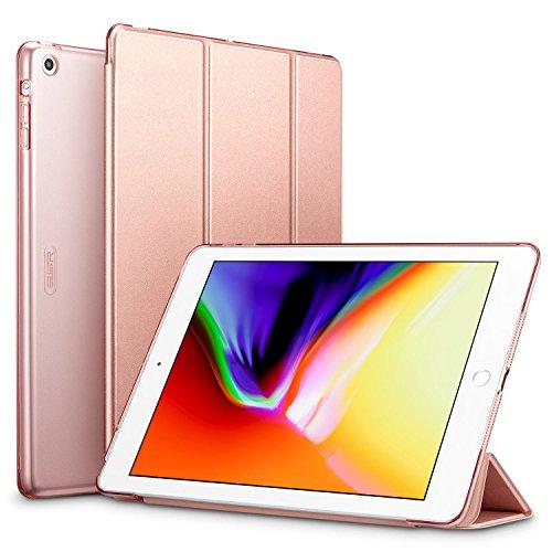 ESR Funda iPad Air Silicona [Auto-Desblo...