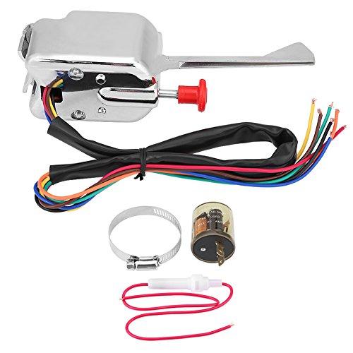 Hot Rod de Calle, Interruptor de Señal de Giro Universal de Hot Street de 12 V + Intermitente para P021-TS-HL101