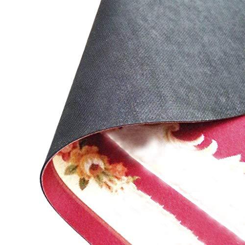 """Lesley Coleridge - Felpudos decorativos personalizados, diseño con texto en inglés """"Oh No Not You Again"""", color negro"""