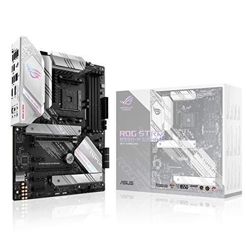 ASUS ROG STRIX B550-A GAMING, Scheda madre AMD B550 Ryzen AM4 Gaming ATX con PCIe® 4.0, stadi di potenza in team, 2.5Gb Ethernet, dual M.2 con dissipatori, SATA 6 Gbps, USB 3.2 Gen 2, Aura Sync RGB