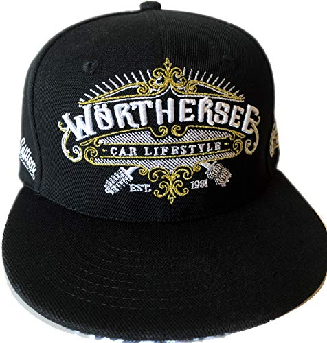 topdesignshop Coole Snapback Cap Wörthersee Car Lifestyle Kappe | Herren Tuning Mütze Limited Edition Motorsport