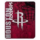NBA Houston Rockets 'Hard Knocks' Fleece Throw Blanket, 50' x 60'